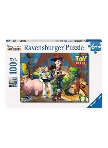 Ravensburger 100 Parça Puzzle WD Toy Story4 108350 Renkli
